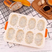 8Cups Silicone Bread Mould Muffin Pan Cupcake Baking Pan Cake Mold Nonstick BPA Chocolate Cookie Baker Baking Tool Baguette Pan 12 pcs silicone cake muffin chocolate cupcake liner baking cup cookie mold newest hot search