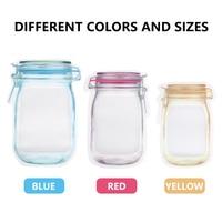 5pcs reusable mason jar bottles ba