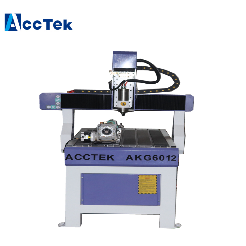 Good Choice For Advertisiong Job Plastic Machine  Cnc Router AKG6012 For Sales