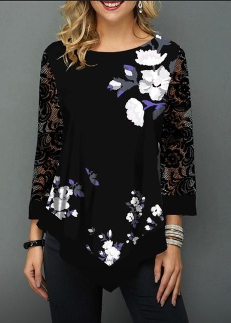 ZAATORA™  Sula  Butterfly Print O-Neck Tshirt 4