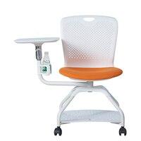 Cadeira de treinamento do ensino da cadeira com cadeira da rede do livro