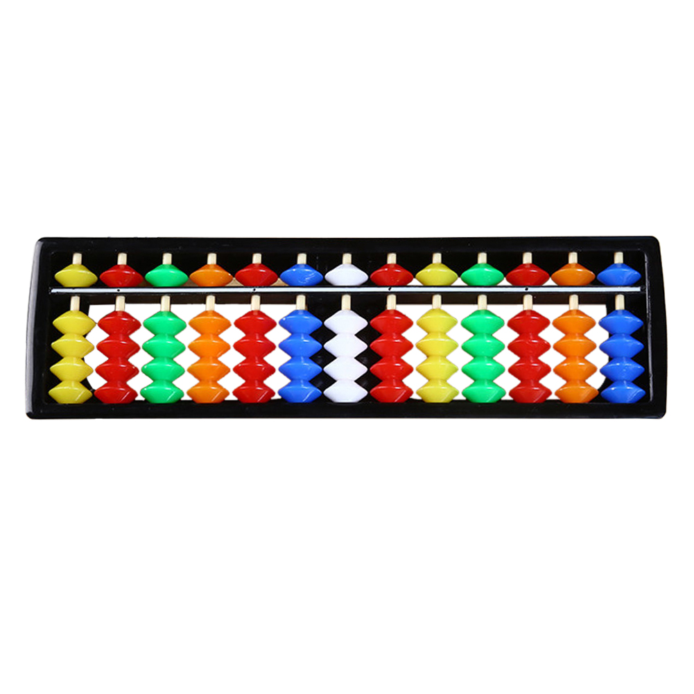 Student Arithmetic Calculating Tool Unisex Gift Colorful Children Abacus ABS Educational 13 Rods Soroban Math Toys Kids Beads