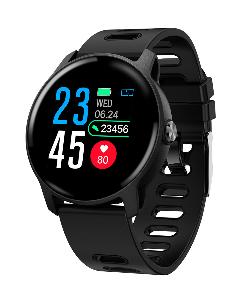 Ravi <font><b>S08</b></font> Women Smart Watch Pulsometer Pulse Pressure Step Counter IP68 Waterproof <font><b>Smartwatch</b></font> connect Android Apple Watch Men image