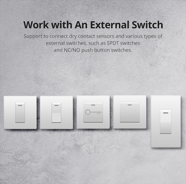 Sonoff mini R2 Smart Wifi Switch Home DIY Small Two Way Light Switches Timer Remote Control Works with Alexa Google Home eWeLink 2