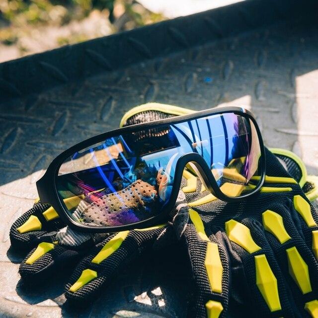 Poc do blade frança especial 4 lentes da bicicleta óculos de sol do esporte mtb óculos de ciclismo 4