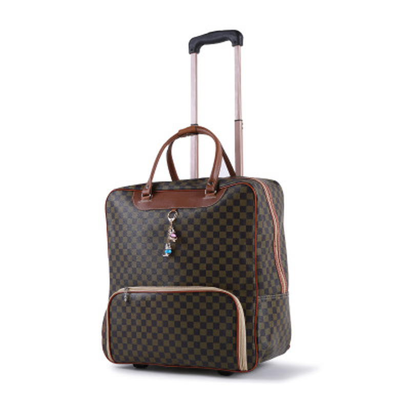 Women's Suitcase Suitcase, Waterproof Cabin Oxford Cloth, Trolley Car, Hand Luggage, Trailer Box, Universal Wheel Trolley Case