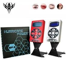 Hot Tattoo Voeding Hurricane Rotary Tattoo Machine Tattoo Supplies Hp-2 Digitale Lcd Permarent Make-Up Tattoo Voeding