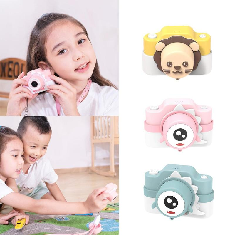 Children 2400 Pixels 16G Digital Cartoon Camera Video Photo And Video Playback Simple Game For Kid Xmas Birthday Gift