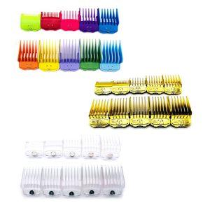 Image 2 - 2019 mais novo 10 pçs/set elegante ouro elétrico clippers ímã pinça limite pente cabeça de óleo clipper pentes