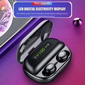 Image 5 - Оригинальные наушники Bluetooth, беспроводная гарнитура TWS V12, новые беспроводные наушники 4000 мАч, зарядная коробка для игр с водонепроницаемым IPX5