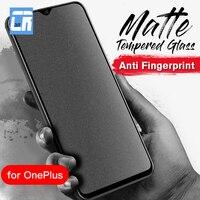 Keine Fingerprint Volle Abdeckung Matte Gehärtetem Glas für Oneplus Nord N200 7T 6T 8T Screen Protector für ein Plus 9r 5 6 Milchglas