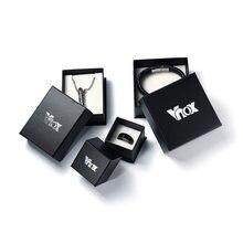 VNOX Marque Anneau Boîte Cadeau Boîtes De Mariage Bijoux Paquet Accessoires