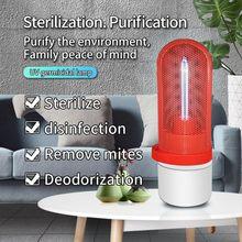 Portable Mini LED UV Sterilizer Disinfection Light USB Ultraviolet Germicidal Disinfect Lamp Ozone for Home Car