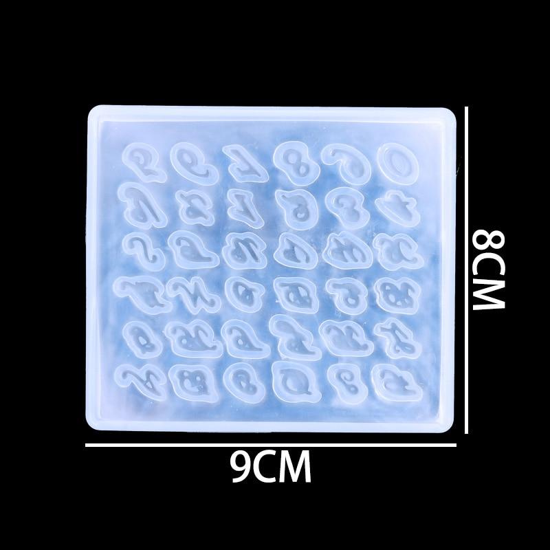 Купить с кэшбэком QIAOQIAO DIY 1 PC Mini Miniature Jewelry Cake Tools Necklace Making Silicone Mold Diy Craft Resin Pendent Decorative Moulds