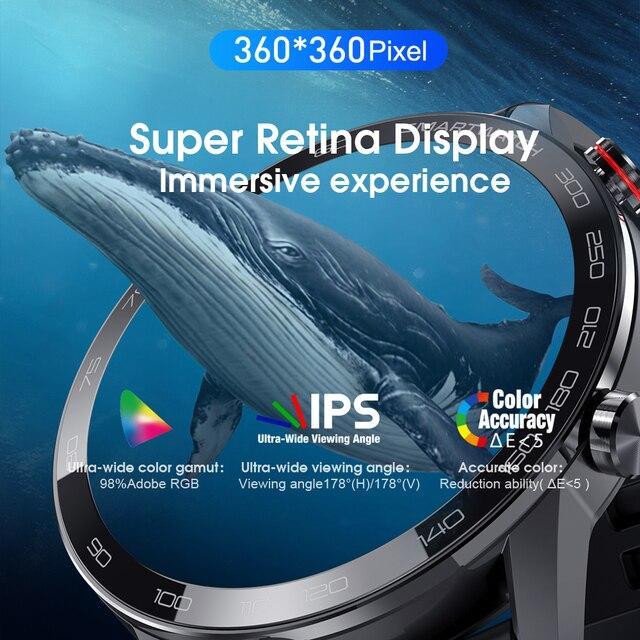 New L5 Update L16 Smart Watch Men IP68 Waterproof Multiple Sports Heart Rate Weather Forecast Fitness Smartwatch VS L13 GT2 3