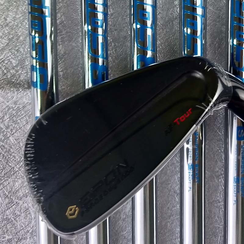 golf clubs AF TOUR MB black golf irons 4-9P 7piece graphite and steel shaft with rod cover free shipping