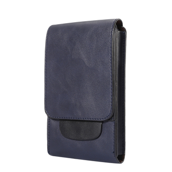Leather Cell Phone Holster with Belt Loop Case For Samsung Galaxy Note 10+, Note 10 Lite, S10 Lite,S10, S10 Plus, J4+,S9+,S8+, S