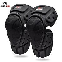 WOSAWE genouillères Moto Motocross Protection du genou Moto course Protection équipement Moto genou protecteur vtt genou