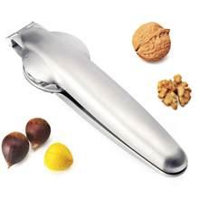 justdolife 1pc Chestnut Cutter Portable Multi-Purpose Walnut Cracker Nut Opener Chestnut Pliers Fruit & Vegetable Tools
