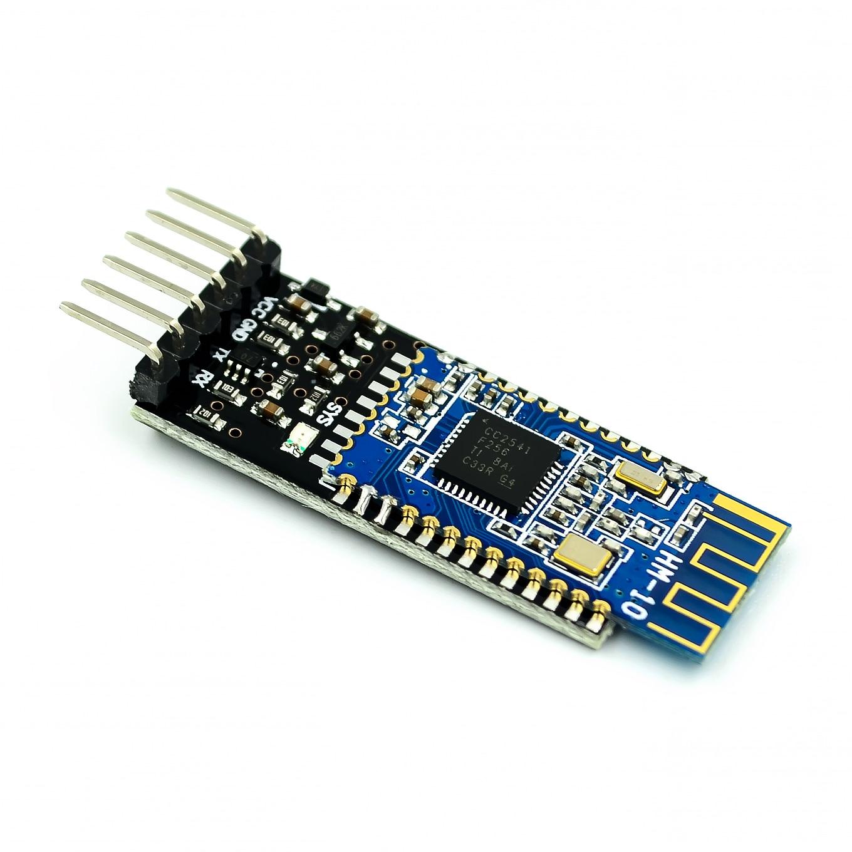 10 ピース/ロット HM 10 透明シリアルポート Bluetooth 4.0 モジュール論理レベル変換/抗  グループ上の 電子部品 & 用品 からの 集積回路 の中 1