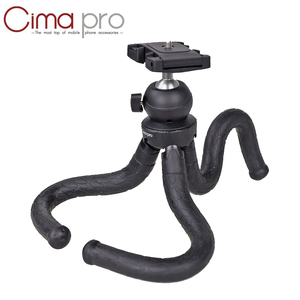 Image 1 - Cima Pro RM30II Travel Outdoor Mini Bracket Stand Octopus Tripod Flexible For  Android Cell Phone Digital Camera GoPro DSLR
