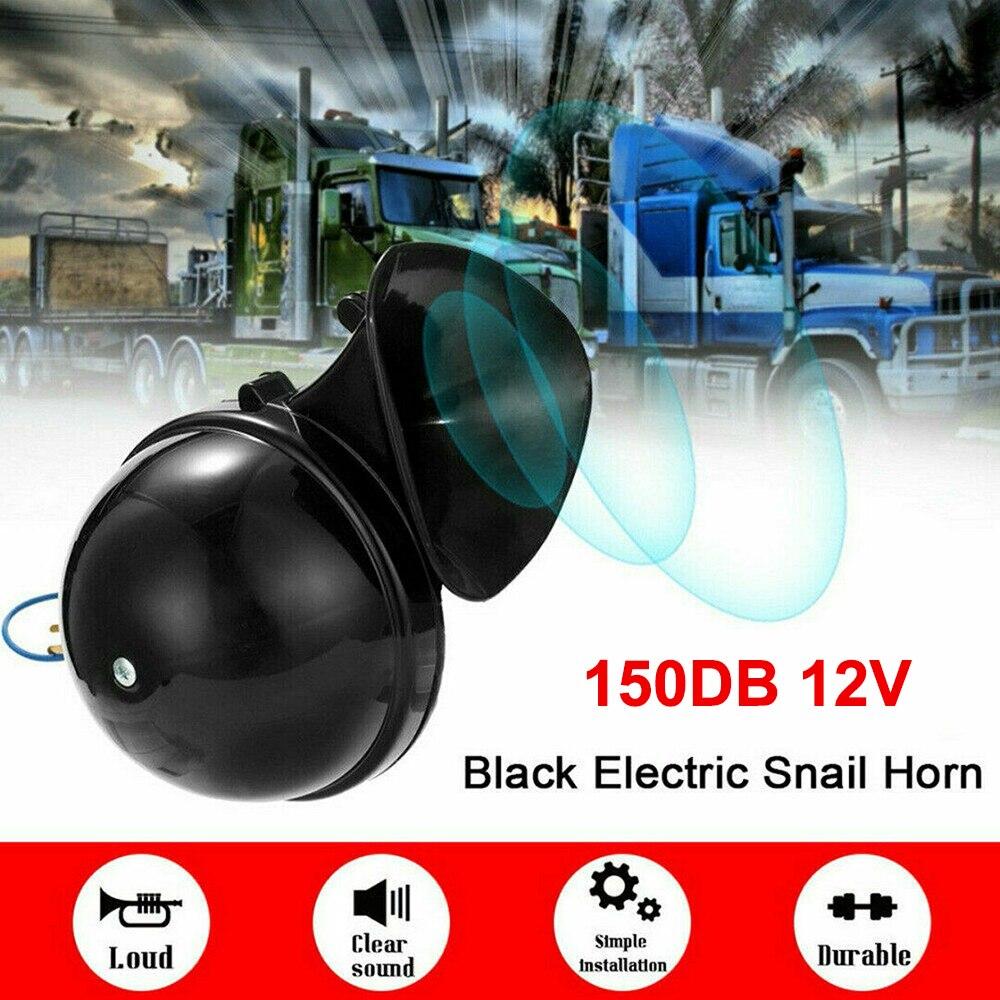 Громкий Электрический гудок со спиралью, 150 дБ, подходит для 12 В автомобилей, грузовиков, внедорожников, домов на колесах