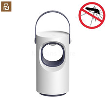 ใหม่ล่าสุด Youpin สีม่วง Vortex USB Mosquito Killer โคมไฟ LED ครัวเรือน Silent Night Light โคมไฟไม่มีรังสี Anti Mosquito Dispeller