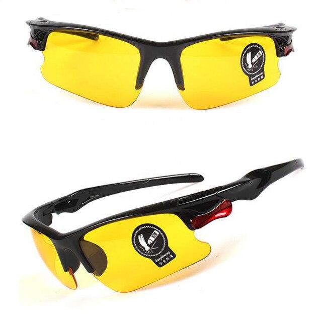 Lunettes de Vision nocturne de voiture lunettes de conduite Anti-éblouissement lunettes de conduite engrenages de Protection lunettes de Protection UV lunettes de soleil 4