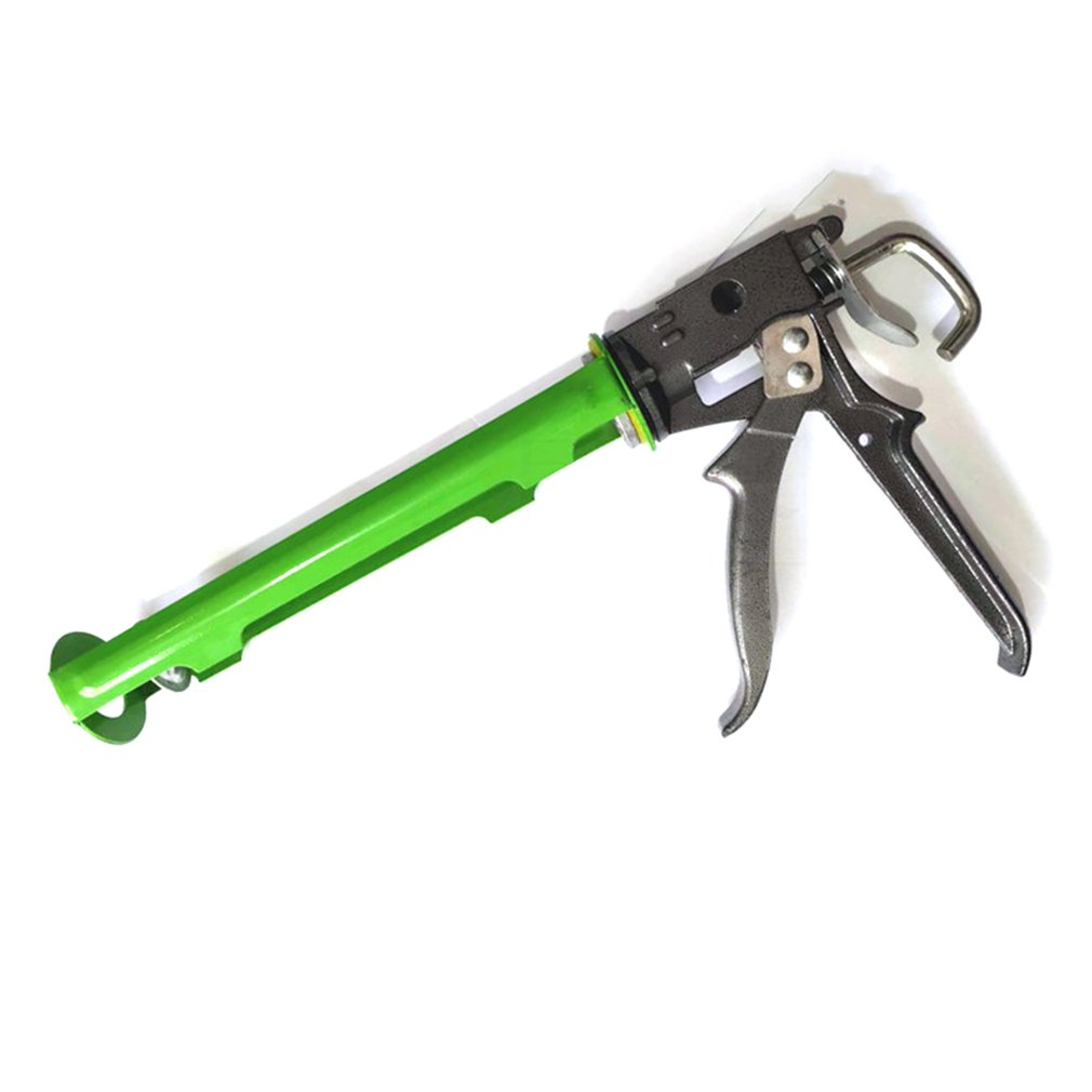 1 Set Labor Saving King Integrated Glass Rotary Glue Gun Power Glass Silicone Gun Aluminum Alloy Glue Gun