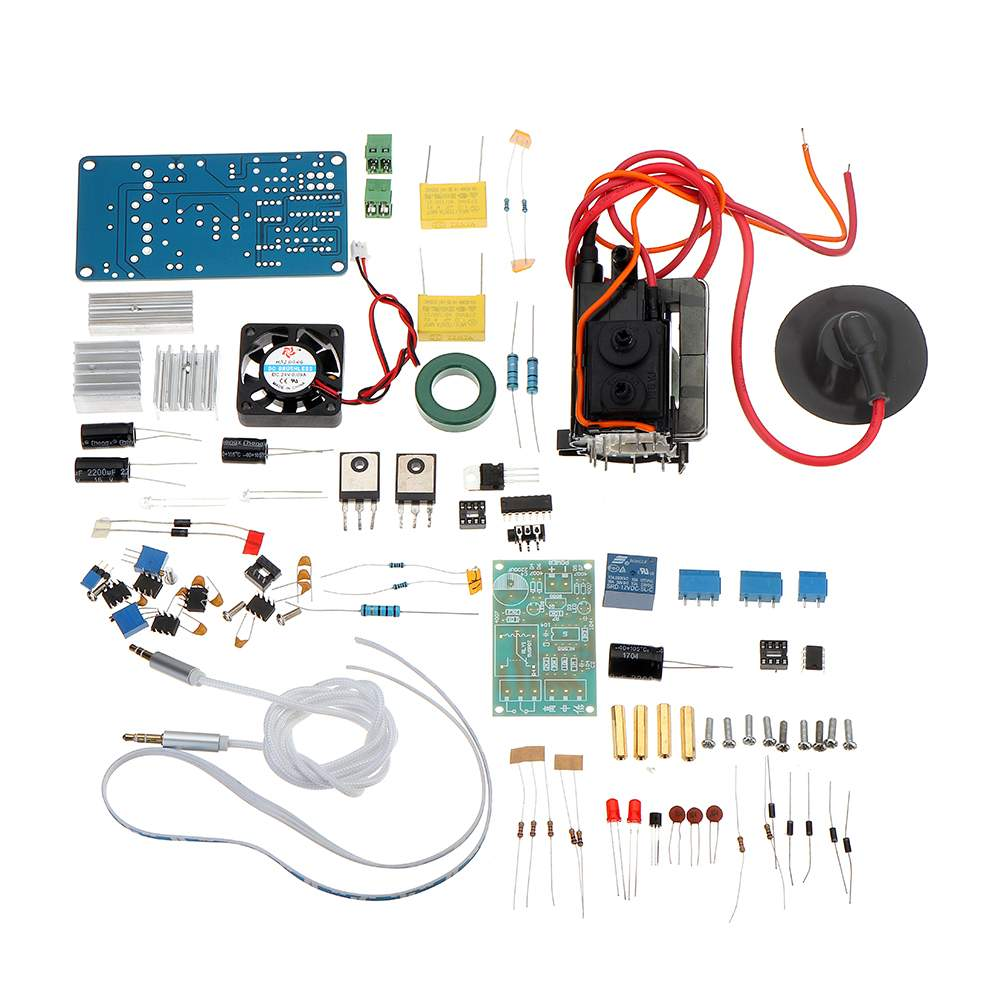 Digital Audio Amplifier High Power Plasma Speaker Amplifier Classic TL494 Mini DIY Kit Science Experiment Toy Creatives Gift