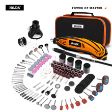 HILDA Electric Drill Dremel Grinder Engraving Pen Grinder Mini Drill Electric Rotary Tool Grinding Machine Dremel Accessories