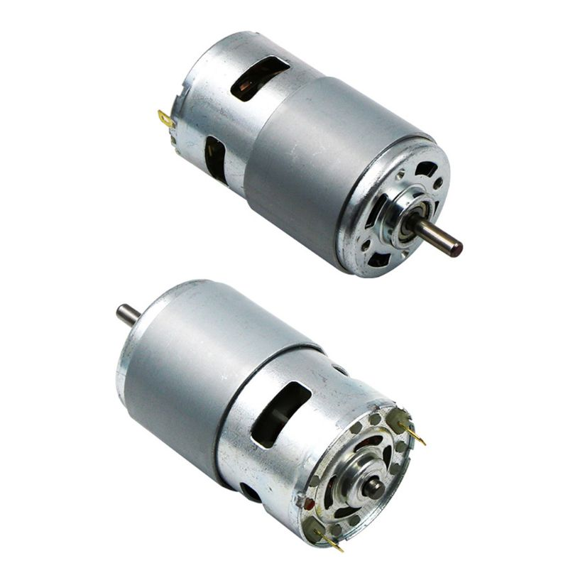 775/795/895 DC Motor DC 12V Ball Bearing Large Torque High Power Low Noise Electronic Motor X4YD image