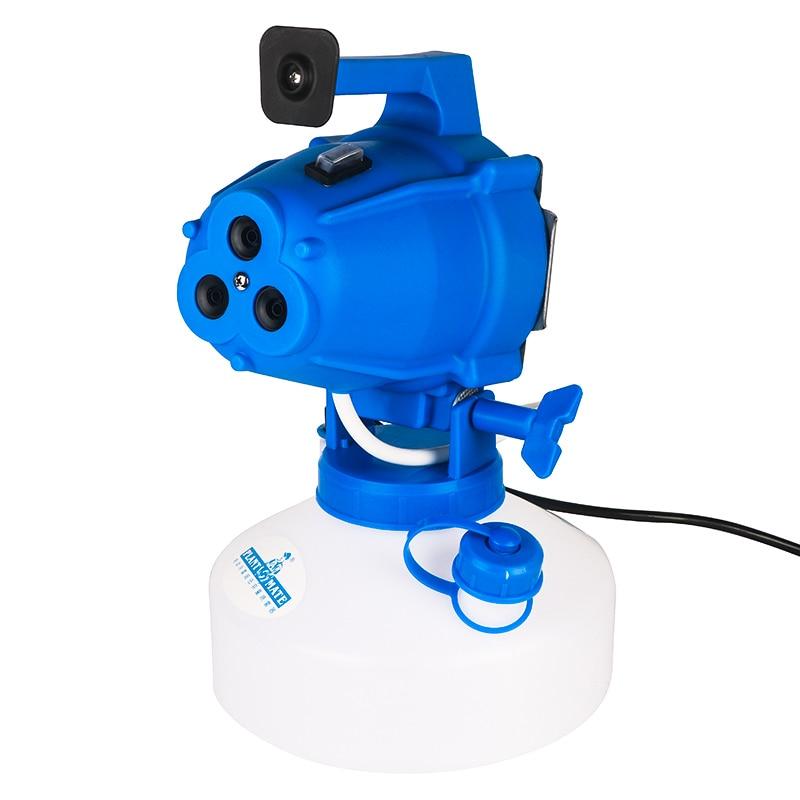 Electric Cold Fog Ultra Low Volume Sprayer ULV 3-hole Insecticidal Air Sterilizer Epidemic Aerosol Atomizer 1000W 4L
