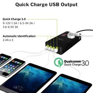 Image 3 - XP voiture onduleur cc 12 V à ca 220 V 230V convertisseur de tension avec purificateur dair QC 3.0 USB chargeur inverseur automatique 12 V 220 V