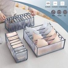 Underwear Organizer Storage Box Drawer Closet Organizer Scarfs Socks Bras Drawer Divider Storage Box Home Foldable Storage Boxes