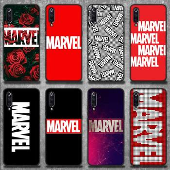 NEW Fashion Mainstream MARVEL Phone Case for Xiaomi mi 6 6plus 6X 8 9SE 10 Pro mix 2 3 2s MAX2 note 10 lite Pocophone F1 image
