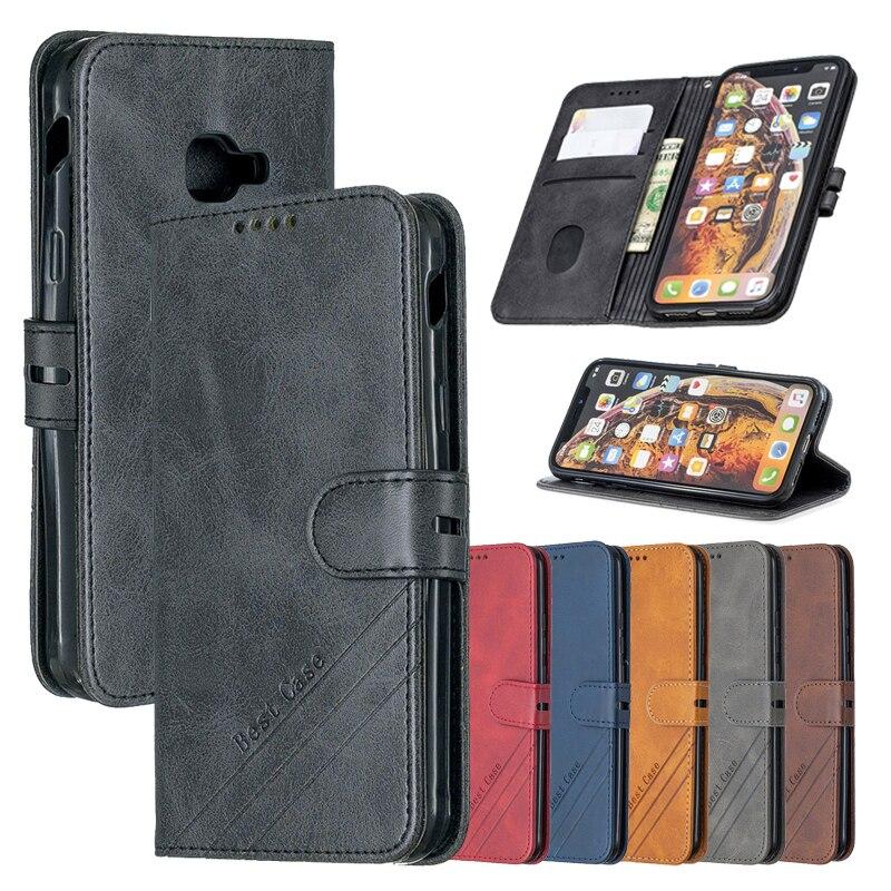 Кожаный флип-чехол X Cover 4, чехол для Samsung Galaxy XCover 4 4S G390F G398F XCover4 XCover4S, магнитная подставка, бумажник, чехол для телефона