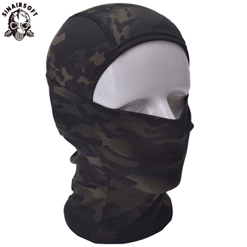 Multicam CP Camouflage Balaclava Full Face Mask Wargame Cycling Hunting Army Military Helmet Liner Tactical Gear Airsoft Militar