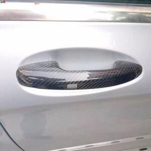 Image 5 - Auto Carbon Faser Türgriff Abdeckung Trim Für Benz C E S GLC GLE Klasse W205 W213 X253 W222 RHD