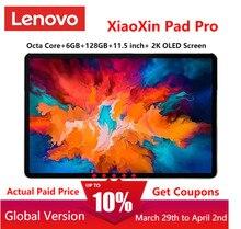 O firmware global lenovo xiaoxin almofada pro snapdragon octa núcleo 6gb ram 128gb 11.5 polegada 2.5k oled tela lenovo tablet android 10