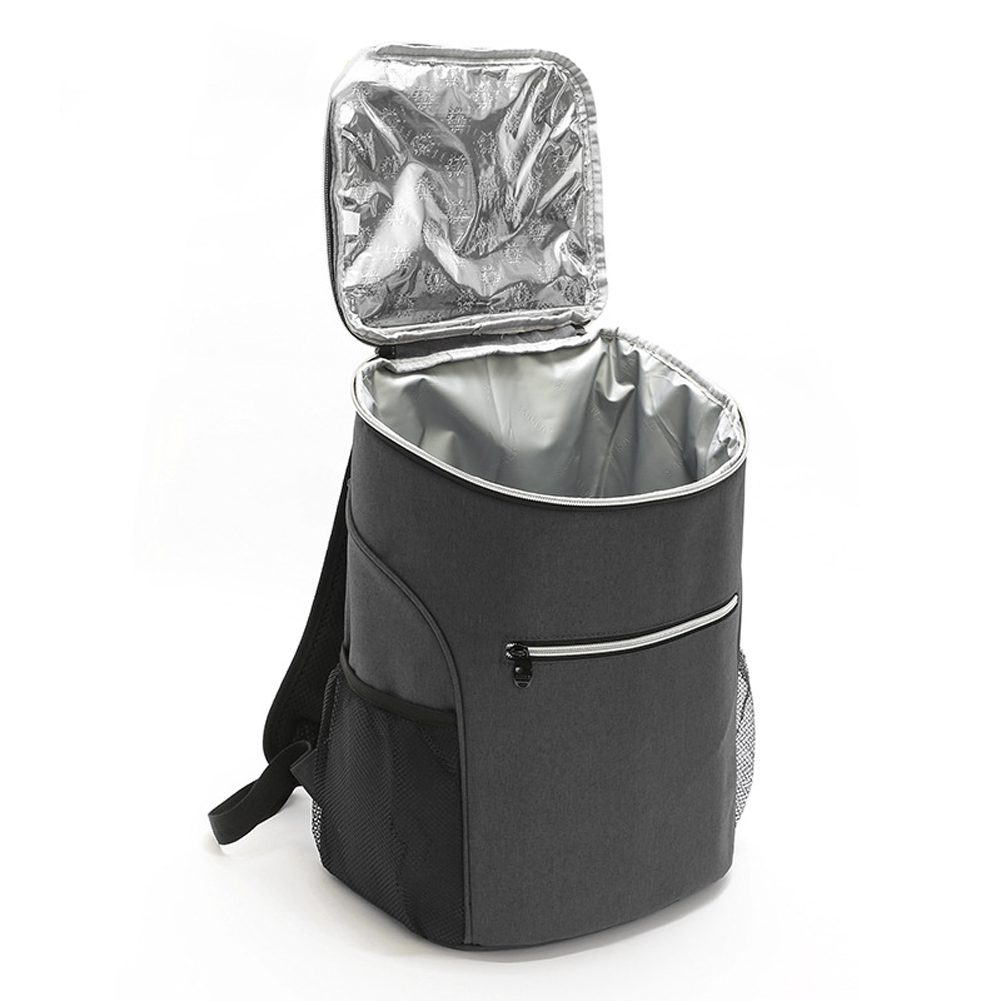Outdoor Ice Pack Carry Thicken Fresh Lunch Bag Cooler Backpack Picnic Waterproof Thermal Container Food Storage Large Capacity