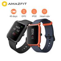 Wersja międzynarodowa Huami Amazfit Bip Smartwatch gps Gloness Smartwatch 45 dni w trybie gotowości