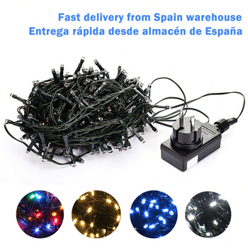 10M 20M 30M 100M Waterproof LED Fairy String Lights Garland Christmas Party Wedding Xmas Holiday Lights Outdoor Home Decoration 1