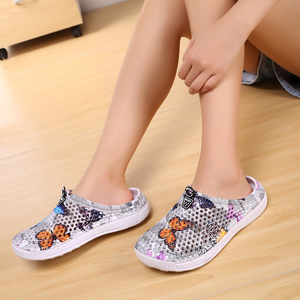 Image 3 - Summer Womens Slippers Slip 0n Clogs Shoes Quick Dry Beach Swimming Water Shoes Creative Butterfly Sandals