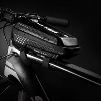 자전거 보관 가방 전면 빔 교수형 안장 가방 산악 자전거 보관 주머니 야외 도구