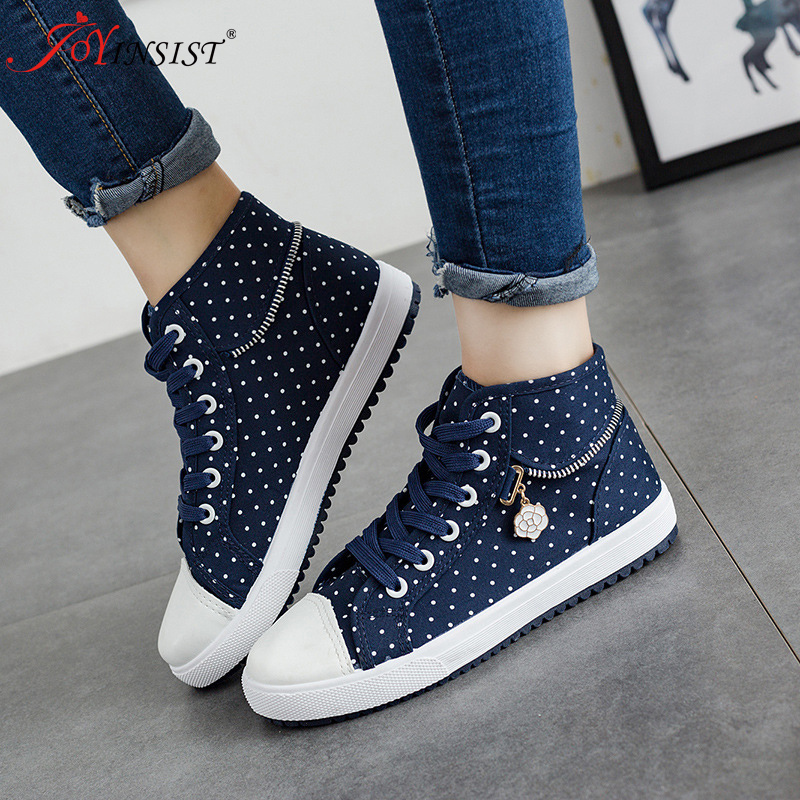 2019 Spring New Canvas Shoes Female low