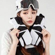 Men Waterproof Ski Gloves Women Winter Outdoor Warm Snowboard Gloves Windstopper Gant Chauffant Winter Sports Accessories EF50ST