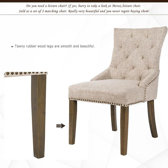2  Padded Dining Chairs  3