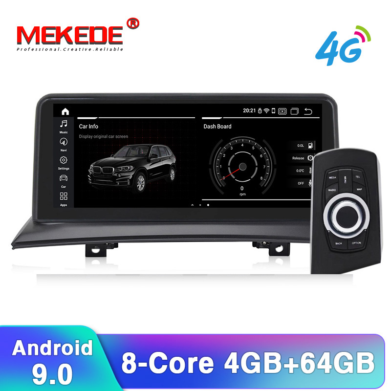 ID7 10.25'' Android 9.0 Car Navigation Player Car DVD Smart System For BMW X3 E83 (2004-2009) With IDrive Car Audio Car GPS