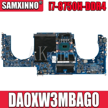 High quality L28461-001 for HP 14S-cf series 14s-cf2004tx laptop motherboard DA0XW3MBAG0 SR3YY I7-8750H DDR4 100% Fully Tested
